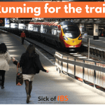 Running for the train
