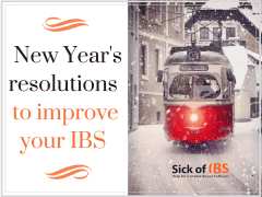 Resolutions to improve your IBS