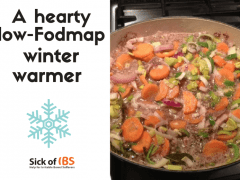 low Fodmap winter warmer