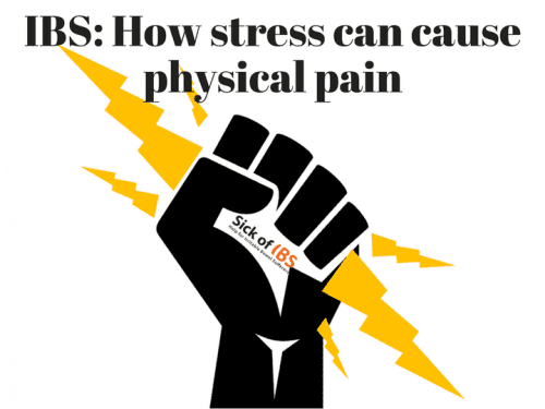 IBS stress and pain