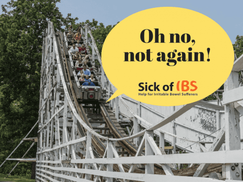 IBS flare-ups: Oh no, not again!