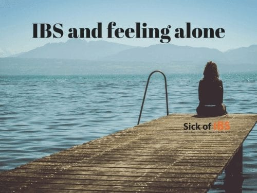 IBS feeling alone