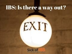 IBS: Is there a way out