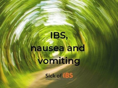 nausea and vomiting